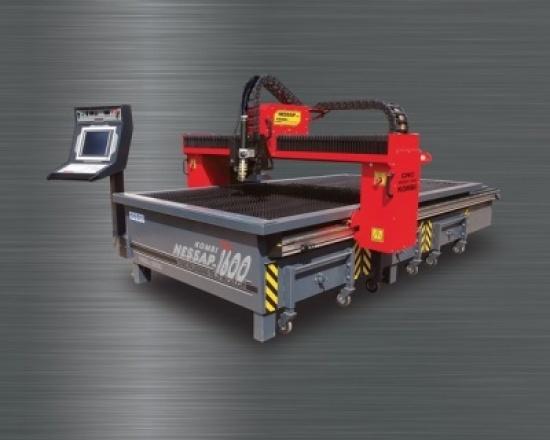 CNC pálicí stroj plazma NESSAP 1600 KOMBI